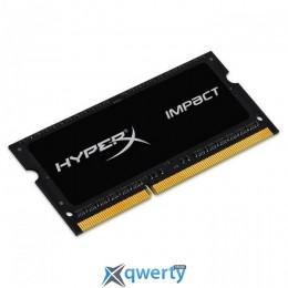 KINGSTON HyperX Impact SO-DIMM DDR3L 1600MHz 4GB PC-12800 (HX316LS9IB/4)