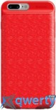 Baseus Ample Backpack Power Bank Case 3650MAH for iPhone 8 / 7 Plus Red (ACAPIPH7P-XB09)
