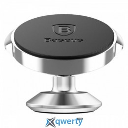 Baseus Small Ears Series Magnetic Bracket (Vertical type) Silver (SUER-B0S)