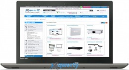Lenovo IdeaPad 520-15IKB (81BF00EDRA) Iron Grey