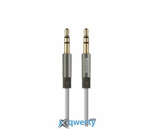 Baseus Fluency Series AUX Audio Cable 2M Sky Gray (WEBASE2AUX-LA0G)