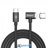 Baseus T-type Magnet Cable(Side insert) Lightning+Micro Two-in-one Black (CALTX-A01)