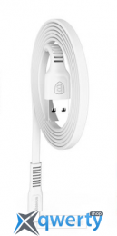 Baseus tough series cable USB For IP 2A 1M White (CALZY-B02)