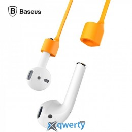 Baseus Earphone Strap Magnetic Adsorption Rope for AirPods Orange (ACGS-A07)