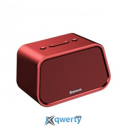 Baseus Encok Multi-functional wireless speaker E02 (Aluminum alloy+U disk/TF card/AUX) Red (NGE02-09)
