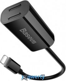 Baseus IP To Double IP Socket Adapter L36 12CM Black (CALL36-01)