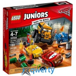 LEGO Juniors Гонка Сумасшедшая восьмерка (10744)