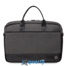 Knomo Princeton Laptop Briefcase 15.6 Grey (KN-43-201-BKG)