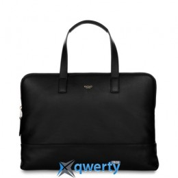 Knomo Reeves Slim Briefcase 14 Black (KN-120-102-BLK)