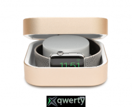 Amber Apple Watch Charging Case & Power Bank Gold 3 800 mAh