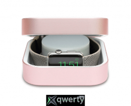 Amber Apple Watch Charging Case & Power Bank Rose Gold 3 800 mAh