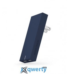 Native Union Smart Charger 2-Port USB Fabric Marine (SMART-2-MAR-FB-INT)