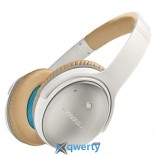 BOSE QUIETCOMFORT 25 ACOUSTIC NOISE CANCELLING HEADPHONES WHITE APPLE DEVICES (WW715053-0020)