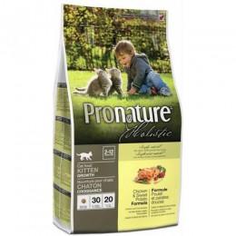 Pronature Holistic с курицей и бататом для котят 2,72 кг