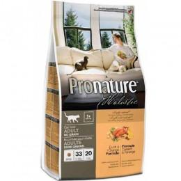 Pronature Holistic с уткой и апельсинами для кошек 340 гр