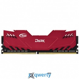 DDR4 4GB 2400 MHZ DARK RED TEAM (TDRED44G2400HC1401)