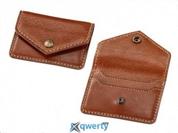 Кожаная визитница из мягкой воловьей кожи, Brown Leather(76 89 8 352 975)