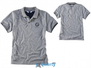 Мужская рубашка «поло» BMW Motorrad, Grey (р.L)(76 61 8 351 610)