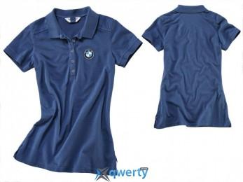 Женская рубашка «поло» Logo, Blue (р.L)(76 61 8 352 184)