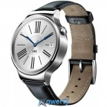 Huawei 42mm Stainless Steel - Black Leather Band