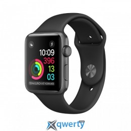 Apple Watch Series 1 MP022 38mm Space Gray Aluminum Case with Black Sport Band