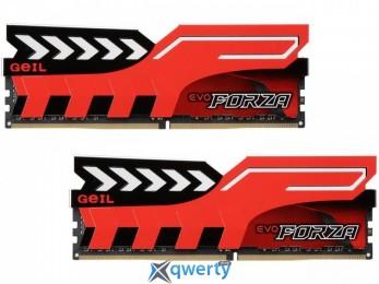 GeIL Forza 8GB (2 x 4GB) SDRAM DDR4 2400 (PC4-19200) (GFR48GB2400C16DC)