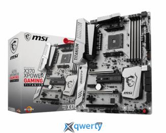 MSI X370 XPower Gaming Titanium (sAM4, AMD X370, PCI-Ex16)