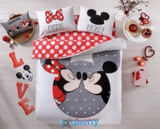 Двуспальное TAC Mickey & Minnie Love Is Ранфорс (60133688)