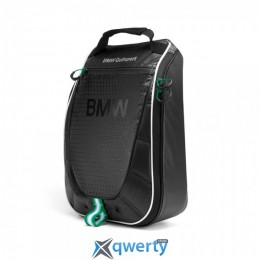 BMW Golfsport Shoe Carry Bag, Black, артикул 80222285760