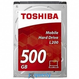 Toshiba Mobile L200 500GB 5400rpm 8MB 2.5