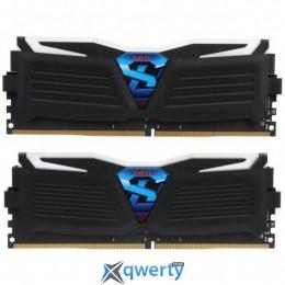Geil 16GB (8GBx2) DDR4 2400MHz SUPER LUCE Heatsink System (PC4-19200) (GLG416GB2400C16DC)