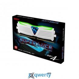 Geil 8GB (4GBx2) DDR4 2400MHz SUPER LUCE Heatsink System (PC4-19200) (GLWG48GB2400C16DC)