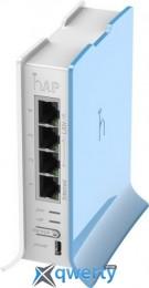 MikroTik hAP lite 2.4 GHz Wi-Fi: 300 Мбит/с (RB941-2ND-TC)