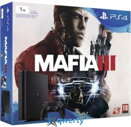 Sony PlayStation 4 1tb Slim + Mafia 3