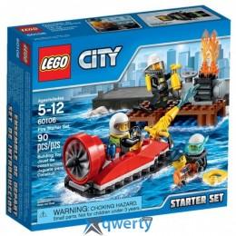 LEGO City Fire Набор для начинающих Пожарная охрана (60106)
