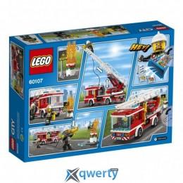 LEGO City Fire Пожарный автомобиль с лестницей (60107)