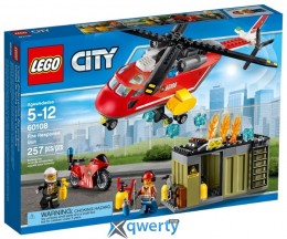 LEGO City Fire Пожарная команда (60108)