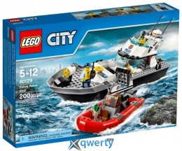 LEGO City Полицейский патрульный катер (60129)
