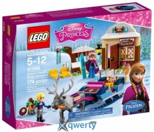 LEGO Disney Princess Анна и Кристоф: прогулка на санях (41066)