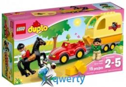 LEGO DUPLO Трейлер для лошадок (10807)