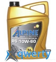 Alpine 10W-60 RS 5л