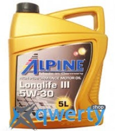 Alpine 5W-30 Longlife III C3 5л