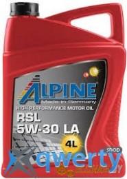 Alpine 5W-30 RSL LA 4л