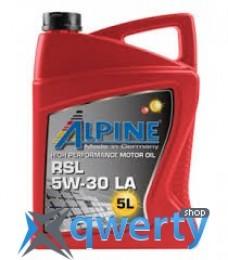 Alpine 5W-30 RSL LA 5л