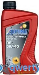 Alpine 5W-40 RSL 1л