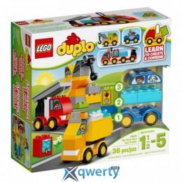 LEGO DUPLO Мои первые машины и грузовики (10816)