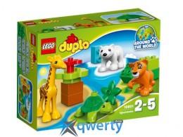 LEGO DUPLO Вокруг света: малыши животных (10801)