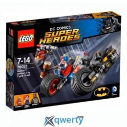 LEGO Super Heroes Бэтмен: Погоня на мотоциклах по Готэм-сити (76053)