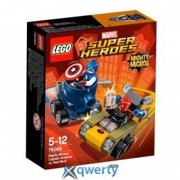 LEGO Super Heroes Капитан Америка против Красного Черепа (76065)