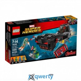 LEGO Super Heroes Marvel Похищение Капитана Америка (76048)